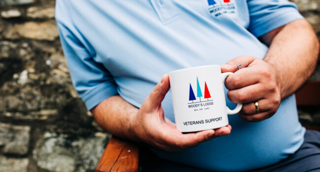 Woody's Lodge Mug | Armed Forces Support