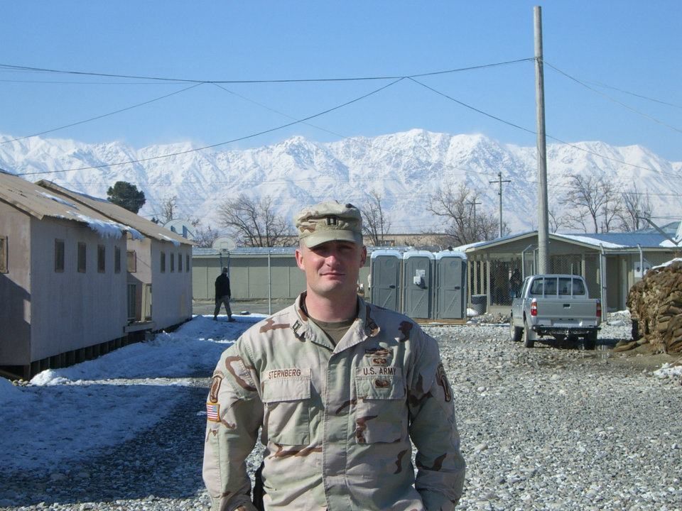 Photo of Nick in Afghanistan | Our Team